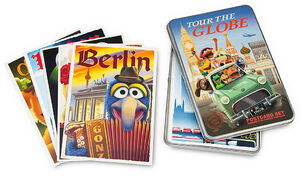 MuppetsTourTheGlobe-PostcardSet