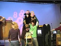 Matt Vogel performing The Count