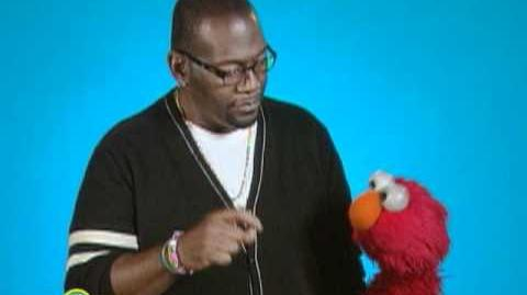 Sesame Street Elmo Interviews Randy Jackson