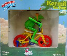 Tomy kermit bmx racer