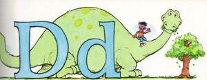 D for Dinosaur Dictionary