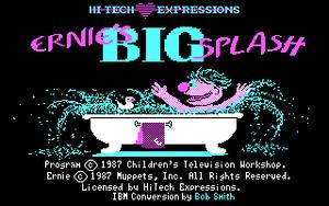 Ernies Big Splash HiTech Expressions
