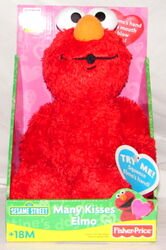 Many kisses elmo