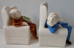 Statler and Waldorf bookends 02