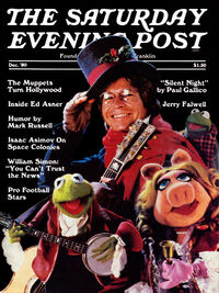 Saturday Evening Post December 1980 cover