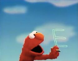 Elmo and the Letter E
