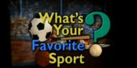 Episode 143: What's Your Favorite Sport?