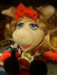 Miss piggy musical plush dan dee 2011