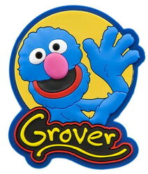Sesame place magnet grover