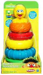 Big bird stack a nest 1