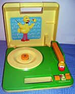 Sesame Street record player (Fisher-Price)