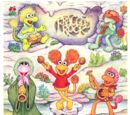 Fraggle Rock stickers (Hallmark)