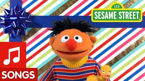 Sesame Street Ernie Happy Birthday Song!