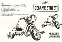 Parade cycle catalog