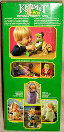Fisher-price dress-up muppet doll kermit 3