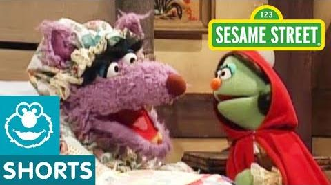 Sesame Street Little Red Riding Hood