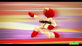 Elmo the Musical#karate