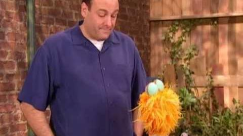 Sesame Street James Gandolfini Talks About Feeling Scared