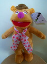 Australia 2012 disney plush small fozzie 30cm