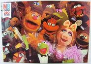 Milton bradley 1980 puzzle muppet musicians
