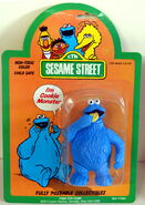 Tara 1985 figure cookie monster
