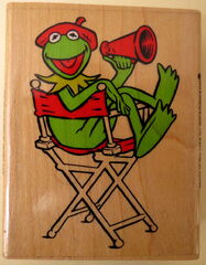 Inkadinkado rubber stamp kermit director