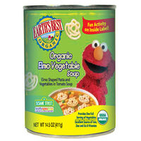 Organic Elmo Vegetable Soup