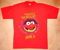 1981 animal t-shirt