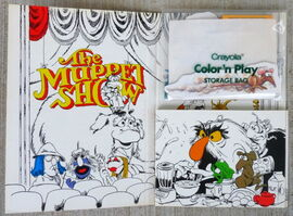 Crayola 1982 color 'n play muppet show set 2