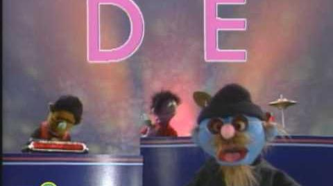 Sesame Street Rappin' Alphabet