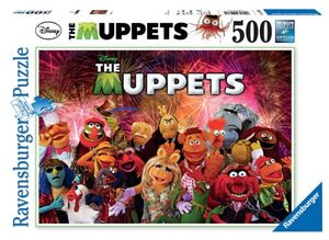 TheMuppets-RavensburgerPuzzle500pcs-(2012)
