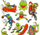 Muppet stickers (American Greetings)