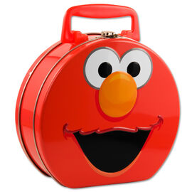 Elmo tin hat box