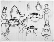 Bert ernie sketches