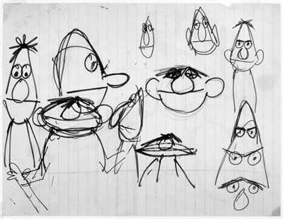 File:Bert ernie sketches.jpg