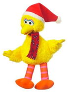 Hasbro 2011 winter plush big bird