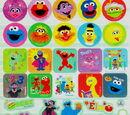 Sesame Street stickers (Innovative Designs)
