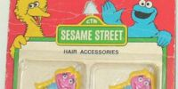 Sesame Street hair accessories (M&L Designs)