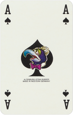 1978 playing cards Ace Spades