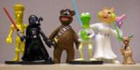 Star Wars Muppets PVC figures