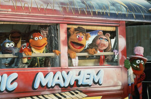 Muppetmovie bus