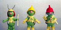 Doozer PVC figures (Sababa)