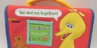 Sesame Street plush photo albums