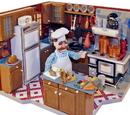 Swedish Kitchen Playset