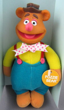 Direct connect toy toons plush fozzie