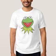 Zazzle kermit cartoon head shirt