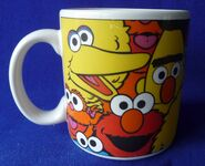 Applause 1998 mug happy faces 1