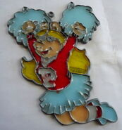 Fundimensions 1982 makit & bakit suncatcher miss piggy