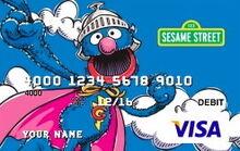 Sesame debit card 01 super grover