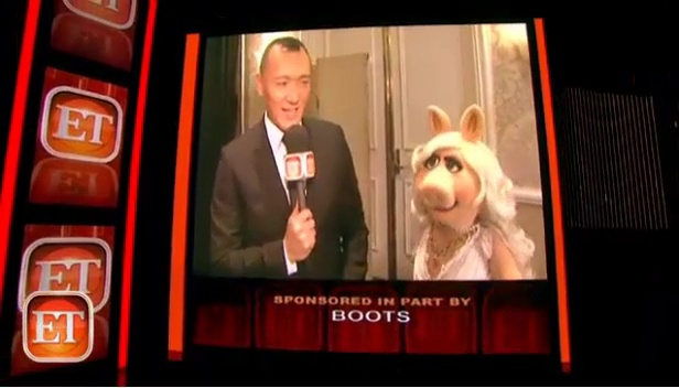 ET gets comment from Miss Piggy after Rivers feud
